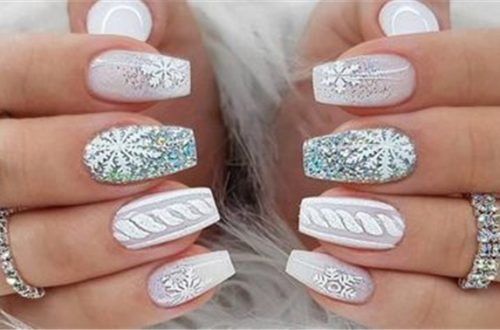 Stylish and Beautiful Nails You Must Love; winter nail; nails art; fashion nails; beautiful nails; fashion for women; #winternail #nailsart #fashionnails #beautifulnails #fashionforwomen #