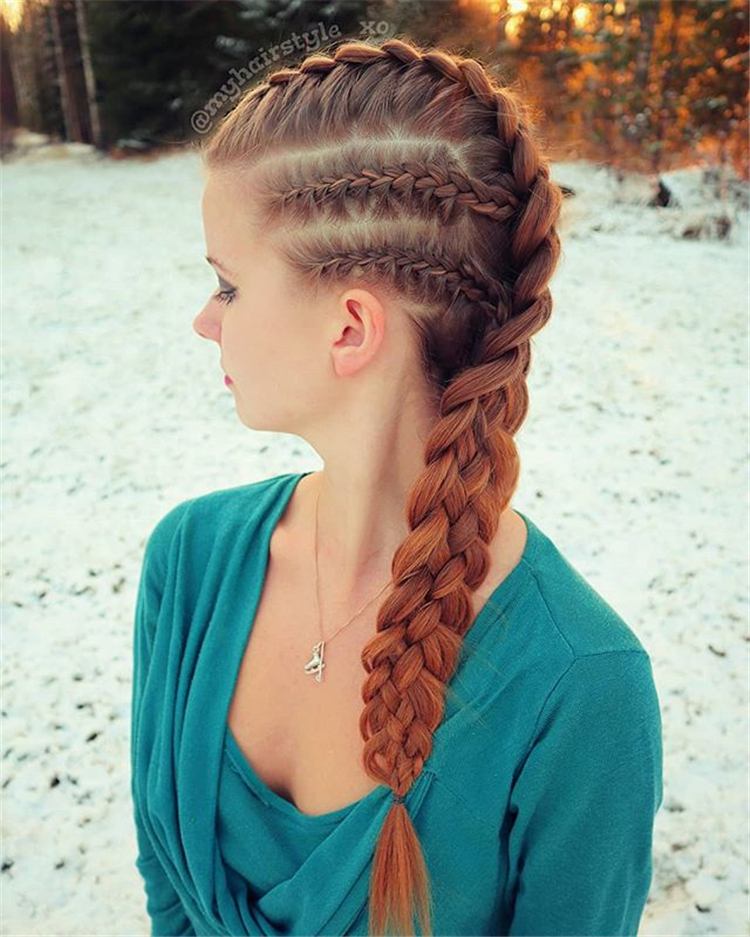Braided hairstyle ;hairstyle ;#Braided hairstyle #hairstyle