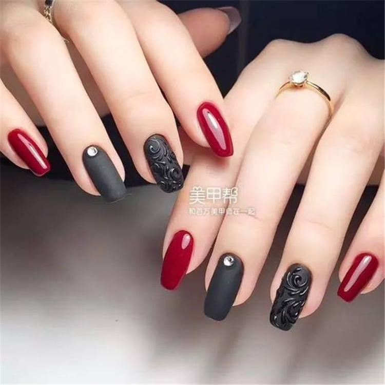 Super Trendy Nails For Spring 2020 ;Trendy Nails For Spring ;Nails ideas ;Nails designs ;Nails #SuperTrendyNailsForSpring2020 #TrendyNailsForSpring #Nailsideas #Nailsdesigns #Nails