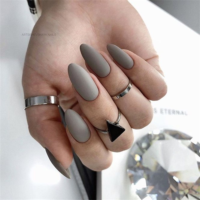 Best Matte Nails Ideas ;Matte Nails ;Nails ;fashion #BestMatteNailsIdeas #MatteNails #Nails #fashion