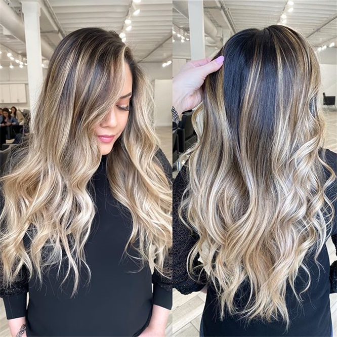 Latest Hair Color Ideas ;Hair Color ;Hair #LatestHairColorIdeas #HairColor #Hair