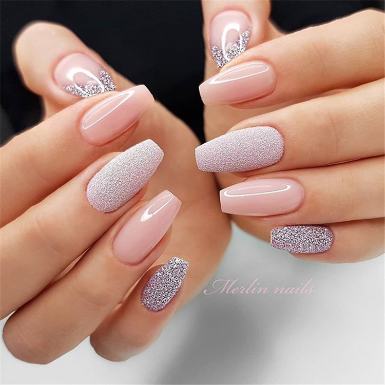 26 Gorgeous Shiny Coffin Nail Designs For Summer Aray Blog For Chic Women