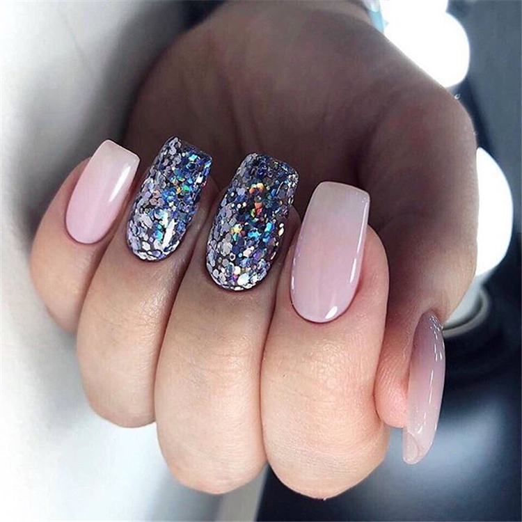 Gorgeous Shiny Coffin Nail Designs For Summer ;Shiny Coffin Nail Designs ;Coffin Nail ;Shiny Nail ;Nail Designs For Summer #Gorgeous Shiny Coffin Nail Designs For Summer, #Shiny Coffin Nail Designs, #Coffin Nail, #Shiny Nail, #Nail Designs For Summer