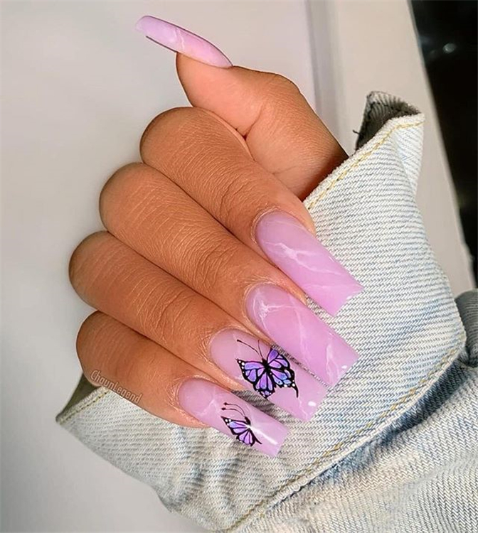 Awesome Ballerina Nail Designs You'll Love ; Awesome Ballerina Nail Designs ; Ballerina Nail #AwesomeBallerina NailDesignsYou'llLove #AwesomeBallerinaNailDesigns #BallerinaNail