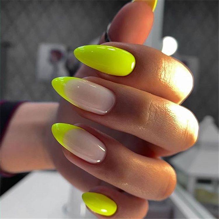 Coolest Almond Nail Designs You Must Go For ; Almond Nail Designs ; Almond Nail ;